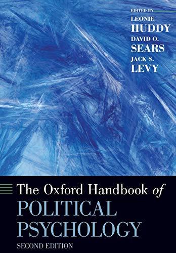 9780199760107: The Oxford Handbook of Political Psychology: Second Edition (Oxford Handbooks)