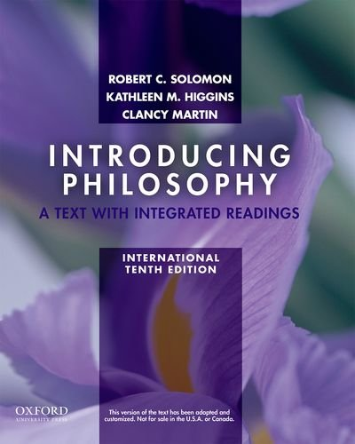 9780199764846: Introducing Philosophy: A Text with Integrated Readings