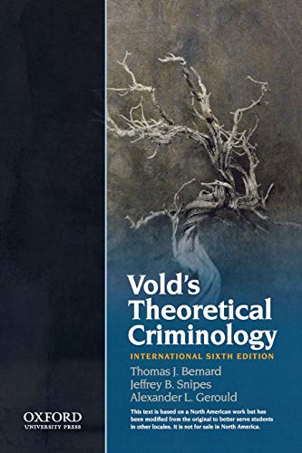 9780199764884: Vold's Theoretical Criminology
