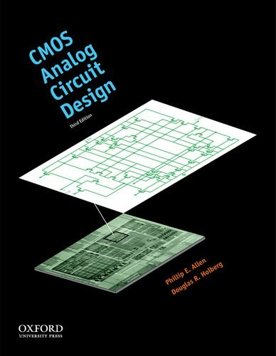9780199765072: CMOS Analog Circuit Design (The Oxford Series in Electrical and Computer Engineering)
