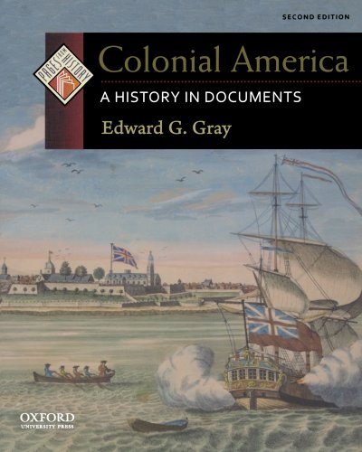 9780199765959: Colonial America: A History in Documents (Pages from History)