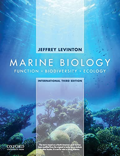 9780199766611: Marine Biology: International Edition: Function, Biodiversity, Ecology
