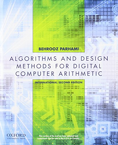 9780199766932: Computer Arithmetic: Algorithms and Hardware Designs, Second Edition