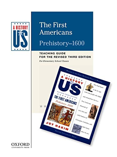 9780199767342: The First Americans Elementary Grades Teaching Guide, A History of US: Teaching Guide pairs with A History of US: Book One