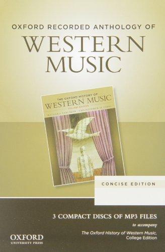 Oxford Recorded Anthology of Western Music: Taruskin, Richard