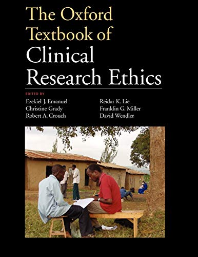 9780199768639: The Oxford Textbook of Clinical Research Ethics