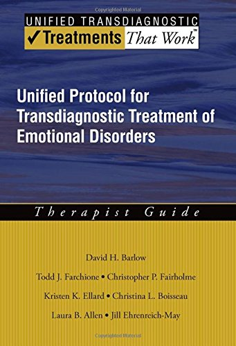 9780199772667: Unified Protocol for Transdiagnostic Treatment of Emotional Disorders: Therapist Guide