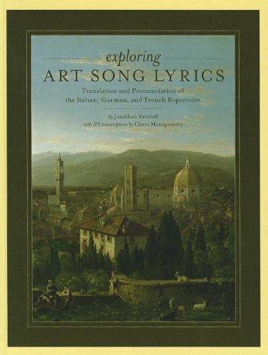 9780199775330: Exploring Art Song Lyrics: Translation and Pronunciation of the Italian, German & French Repertoire