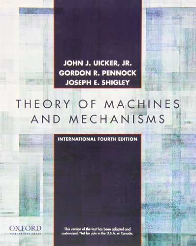 9780199777815: Theory of Machines and Mechanisms: International Fourth Edition
