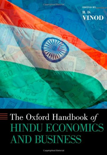 9780199782048: The The Oxford Handbook of Hindu Economics and Business