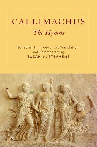 9780199783076: Callimachus: The Hymns