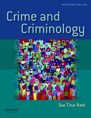 9780199783182: Crime and Criminology