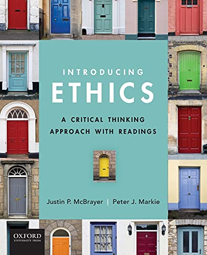 9780199793785: Introducing Ethics: A Critical Thinking Approach with Readings
