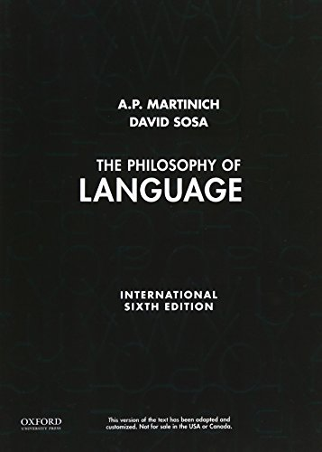 9780199795147: The Philosophy of Language