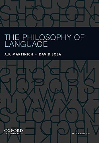 9780199795154: The Philosophy of Language