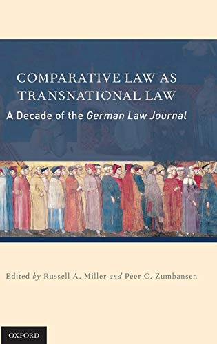 9780199795208: Comparative Law as Transnational Law: A Decade of the German Law Journal