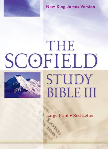9780199795284: The Scofield Study Bible III, NKJV, Large Print Edition