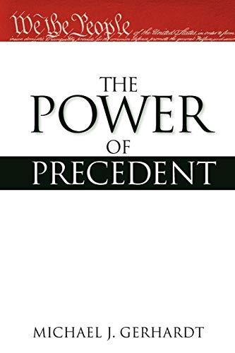 9780199795796: The Power of Precedent