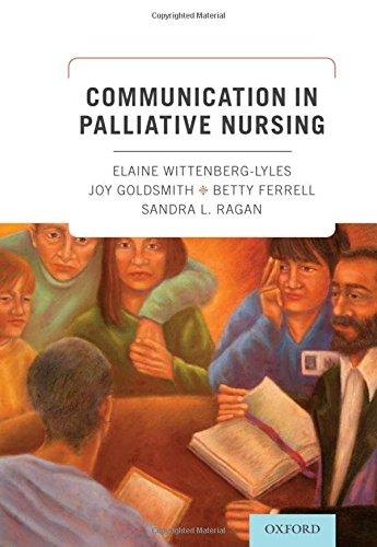 9780199796823: Communication in Palliative Nursing