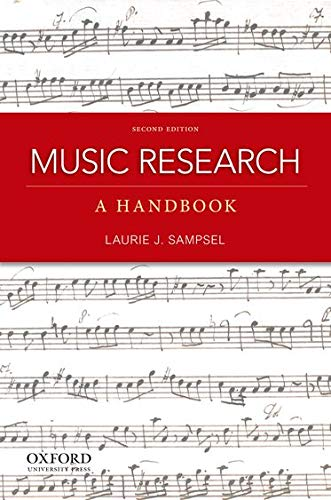 Music Research: A Handbook: Sampsel, Laurie J.