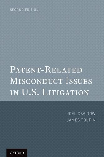 9780199797158: Patent-Related Misconduct Issues in U.S. Litigation
