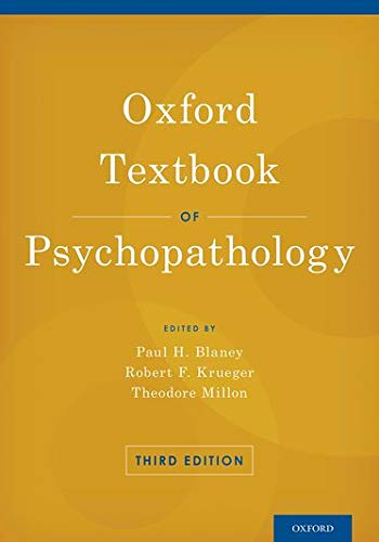 9780199811779: Oxford Textbook of Psychopathology (Oxford Textbooks in Clinical Psychology)