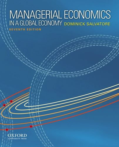 9780199811786: Managerial Economics in a Global Economy