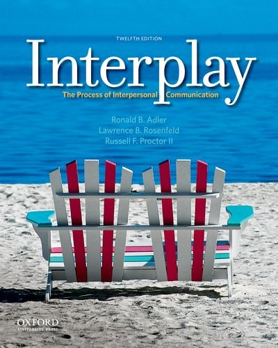 9780199827428: Interplay: The Process of Interpersonal Communication