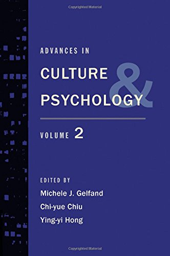 9780199840694: Advances in Culture and Psychology: Volume 2