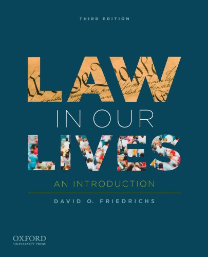 9780199840748: Law in Our Lives: An Introduction