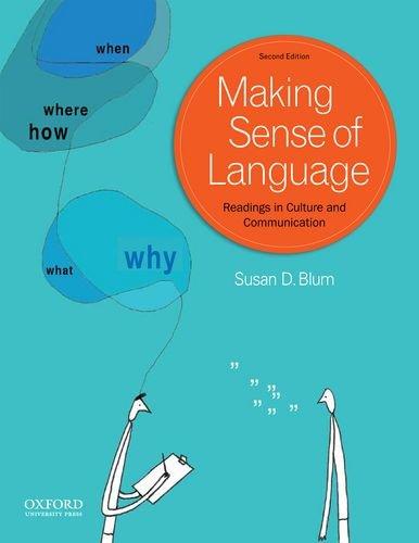 Making Sense of Language: Readings in Culture