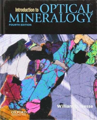 9780199846276: Introduction to Optical Mineralogy