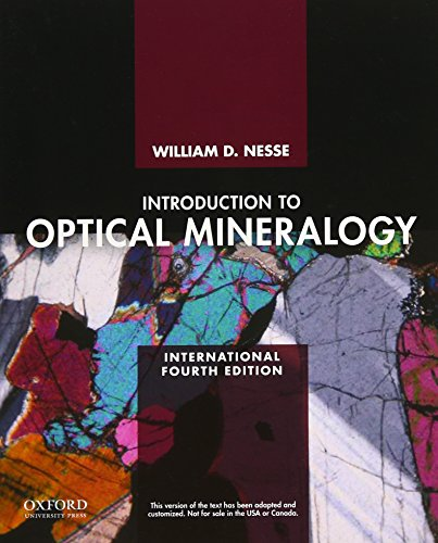 9780199846283: Intro Optical Mineralogy