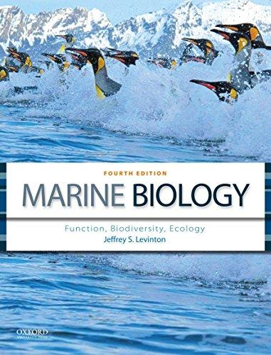 Marine Biology : Function, Biodiversity, Ecology: Jeffrey S. Levinton