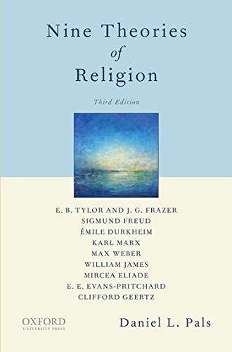 9780199859092: Nine Theories of Religion