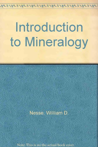 9780199859764: Introduction to Mineralogy