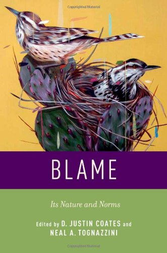 9780199860821: Blame: Its Nature and Norms
