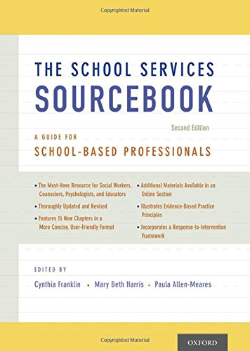 9780199861750: The School Services Sourcebook, Second Edition: A Guide for School-Based Professionals