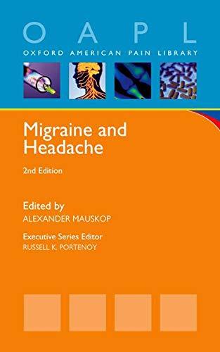 9780199862047: Migraine and Headache (Oxford American Pain Library)