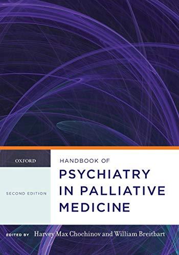 9780199862863: Handbook of Psychiatry in Palliative Medicine (Oxford Handbooks)