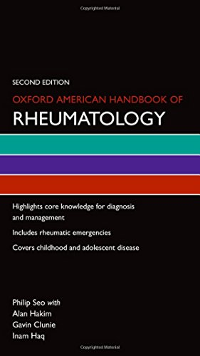 9780199907991: Oxford American Handbook of Rheumatology (Oxford American Handbooks of Medicine)