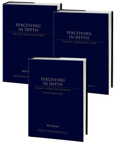 9780199913756: Perceiving in Depth: 3-Volume Set