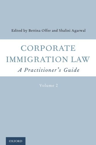 9780199919949: Corporate Immigration Law: A Practitioner's Guide