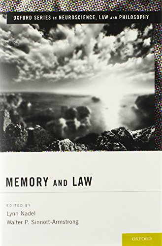 9780199920754: Memory and Law (Oxford Series in Neuroscience, Law, and Philosophy)