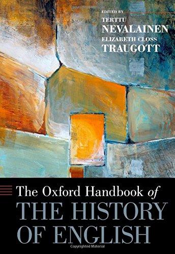 9780199922765: The Oxford Handbook of the History of English (Oxford Handbooks)
