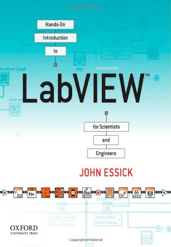 9780199925155: Hands-On Introduction to LabVIEW for Scientists and Engineers