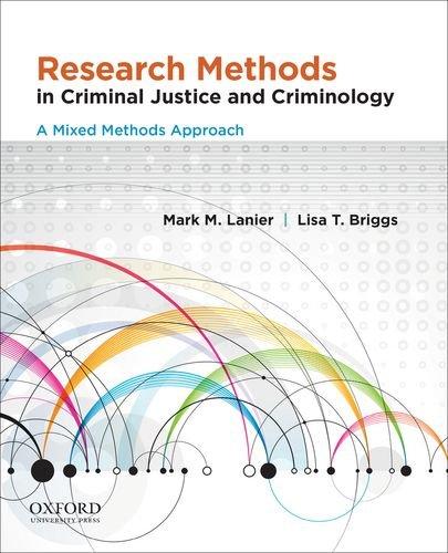 Research Methods in Criminal Justice & Criminology: Lanier