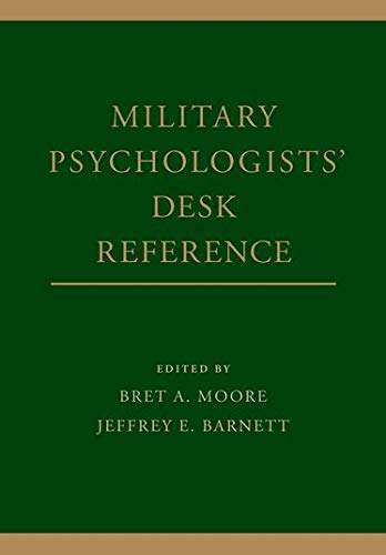9780199928262: Military Psychologists' Desk Reference