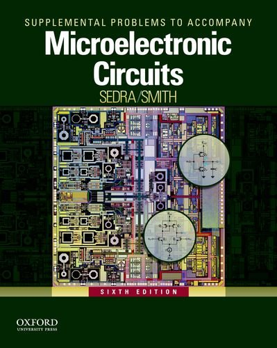9780199928804: MICROELECTRONIC CIRCUITS-SUPP.