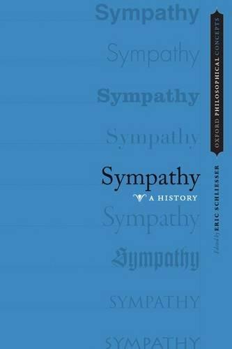 9780199928873: Sympathy: A History